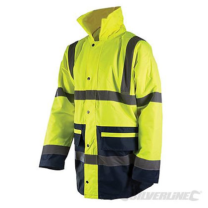 Hi-Vis Two Tone Jacket Class3 XL 108-116cm (42-46)