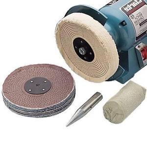 "CLARKE CBK200C 8"" (200mm) Polishing Kit"