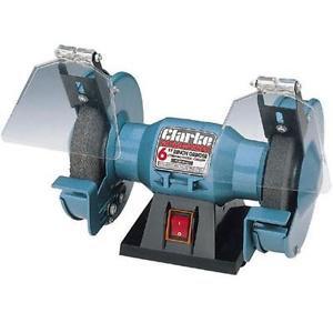 "CLARKE CBG6RP 6"" Bench Grinder 150w 1PH Motor"