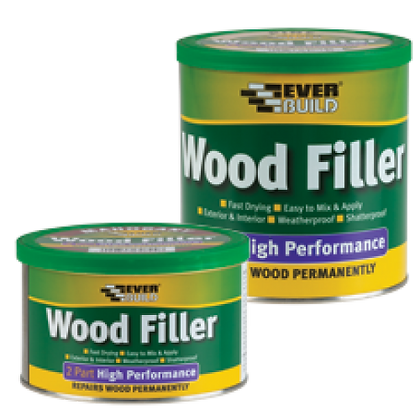 2 PART HIGH PERFORMANCE WOOD FILLER 500G
