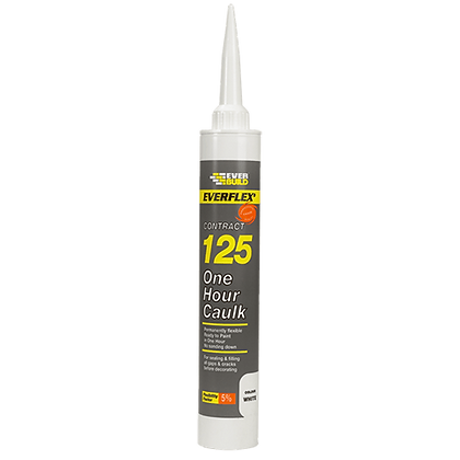 EVERBUILD 125 One Hour Caulk Magnolia