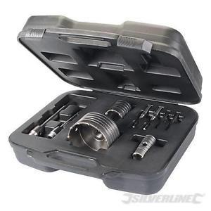SILVERLINE TCT Core Drill Kit 9pce