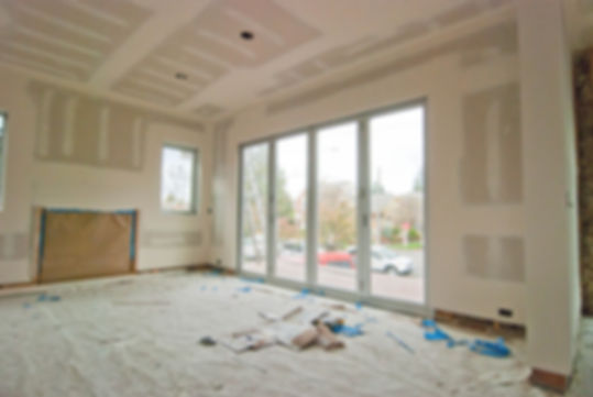 Drywall tape and mud smooth finish