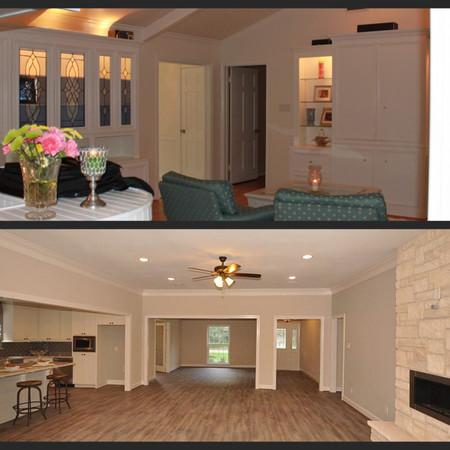 Raise Ceilings and Open Floorplan