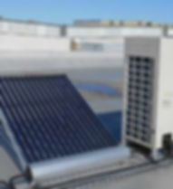 falkon air, solar assisted cooling, solar assited air conditioning, hybrid A/C and refrigeration, Compression-eat absorption, thermodynamic heat collection, solx energy, thermx