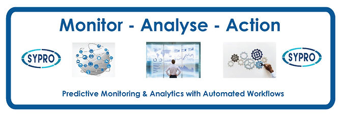Sypro, i-predict, monitor, analyse, analysis,predictive analytics, Action, automated workflows, machine learning