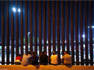 The US-Mexico border is closed. The wall as a place of memory.