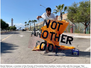 Advocates for Friendship Park hopeful after border construction halted