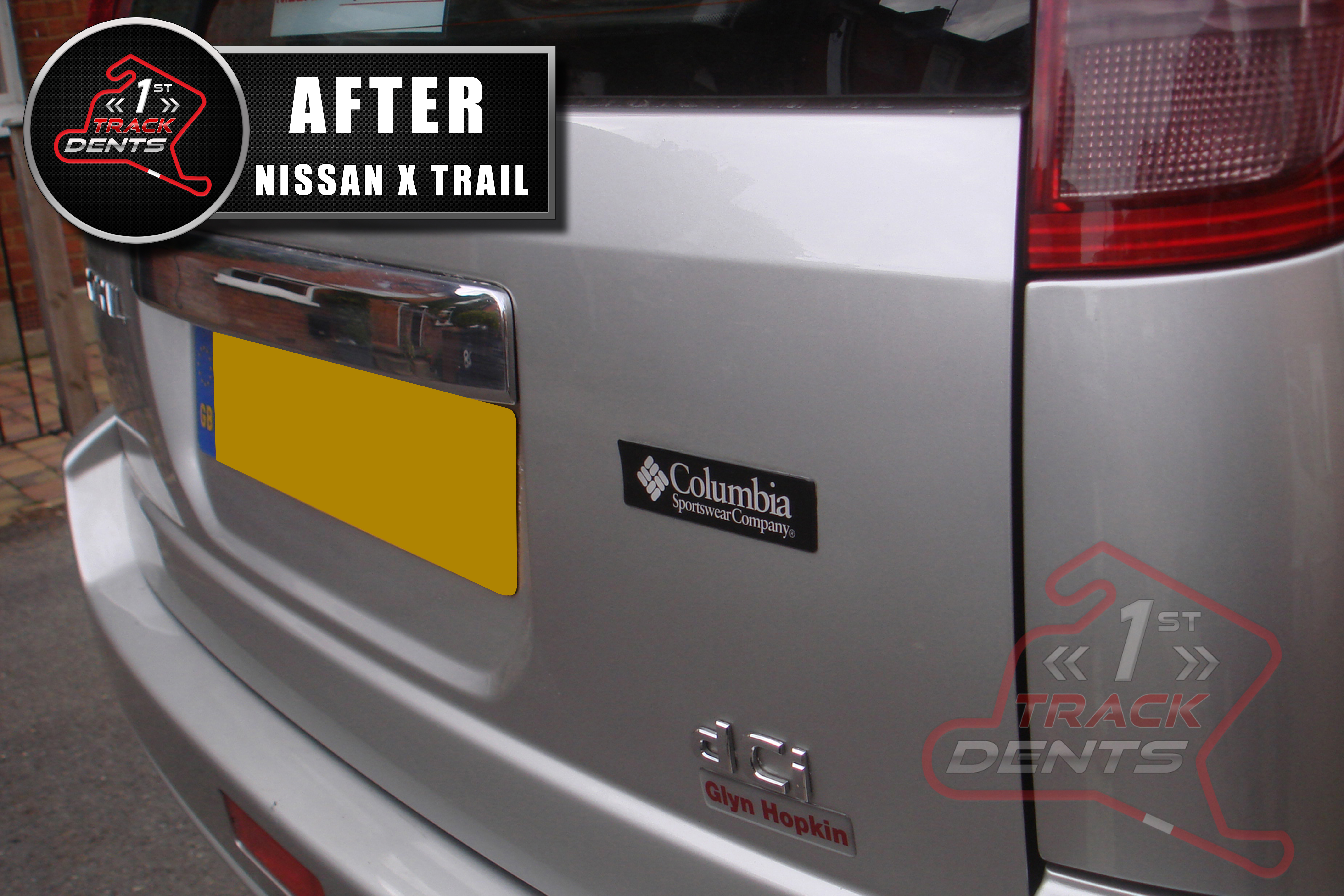 NISSAN X TRAIL AFTER no reg