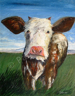 Moo-dy Cow