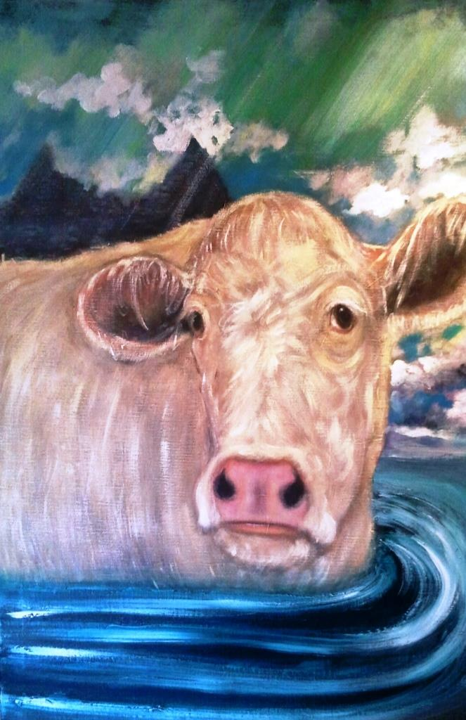 Inish Boffin White Cow
