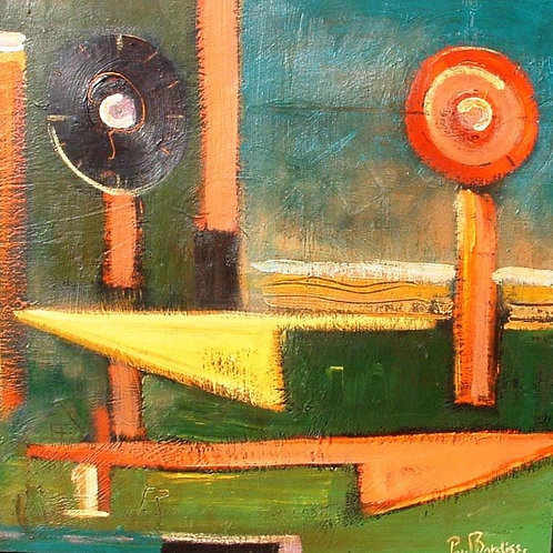MANNA 40X50 cm original painting