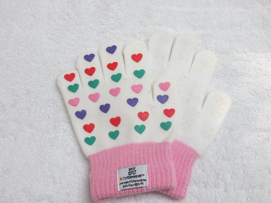 Girls Gloves – Hearts