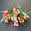Thumbnail: בוקט מיני טוליפ כתום-פרחי משי לעיצוב הבית