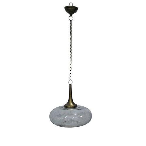 מנורת תקרה זכוכית מעוגלת סומבררו