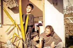 משפחה בכפר