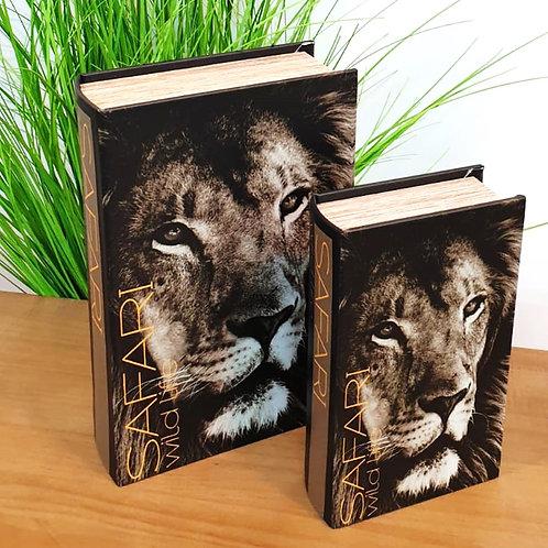סט קופסאות במראה ספר אריה