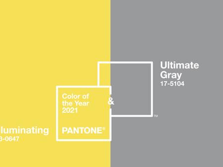 האופטימיות של 2021        צבע נבחר של חברת פנטון