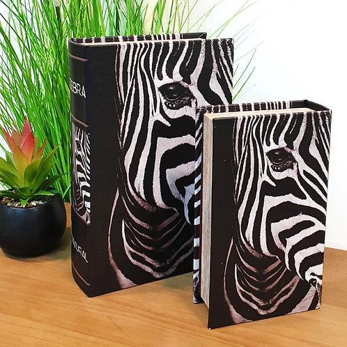 סט קופסאות במראה ספר זברה
