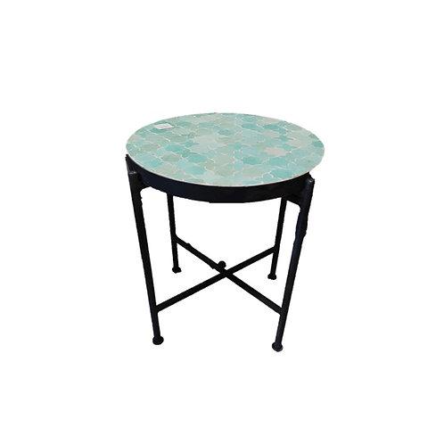 שולחן קפה- טורקיז