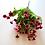 Thumbnail: בוקט חרציות ורוד/ בורדו - פרחי משי לעיצוב הבית