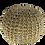 Thumbnail: פוף עגול סרוג- חבל