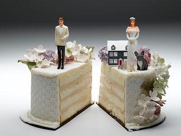 Partage des biens au cours d'un divorce