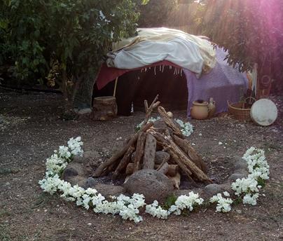 אוהל הזעה אינדיאני