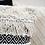 Thumbnail: כריות נוי- מקרמה שחור ולבן