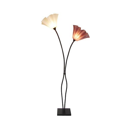 מנורת פרח 2 קנים