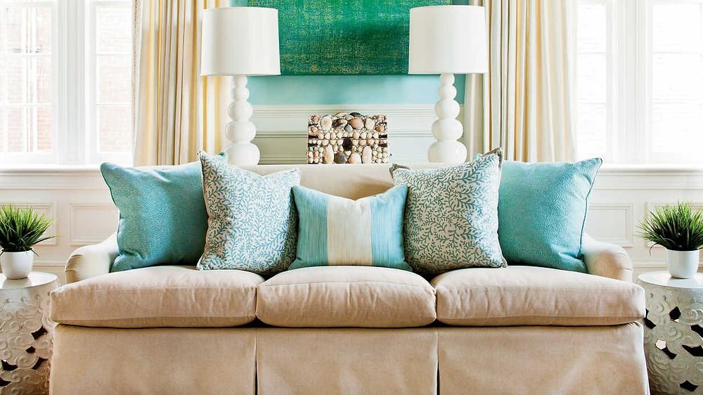 כריות לעיצוב הסלון - אינדיגו המרכז לעיצוב הבית