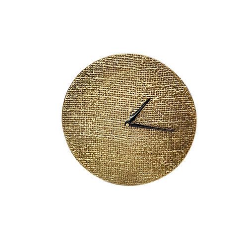 שעון מתכת בראס עתיק שולחני