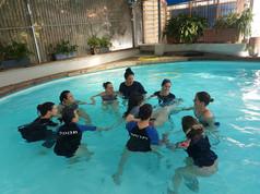 לימודי טיפול רגשי במים לילדים