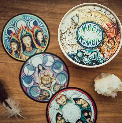 Moon Woman Shamanic Healing Cards