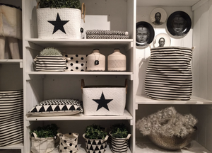 כלינ אחסון מחומרים שונים - אינדיגו המרכז לעיצוב הבית