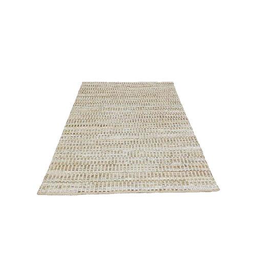 שטיח גדול- עור כותנה ויוטה