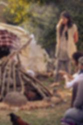 מונלוג', אוהל הזעה לנשים