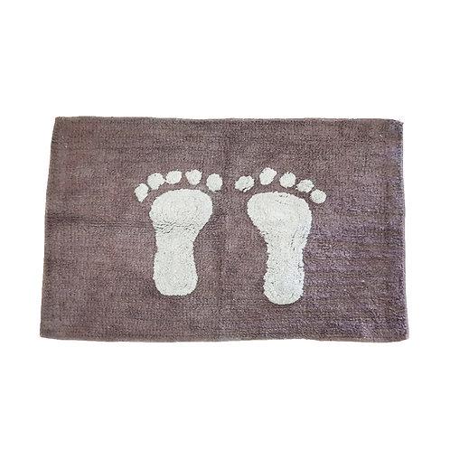 שטיח מקלחת כפות רגלים