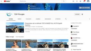 Lancement de la chaîne youtube TOP PLONGÉE!