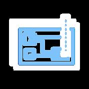 Print Circuit Board Design Icon