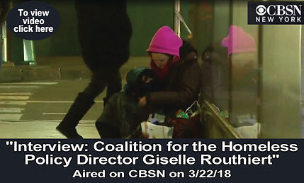Coalition for the Homeless Policy Direct