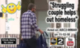 Struggling couple helps out homeless_Ad.
