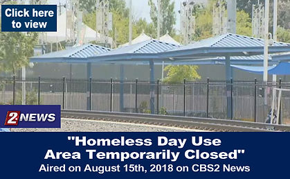 Homeless Day Use Area Temporarily Closed