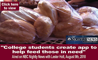 College students create app to help feed