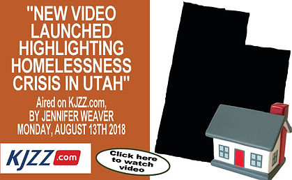 Highlighting homelessness crisis in Utah