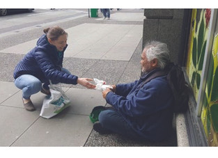 My Conversation with A Homeless