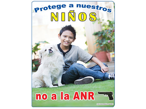 Protege a nuestros niños, no a la ANR