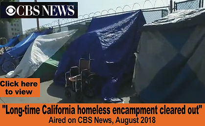 Long-time California homeless encampment