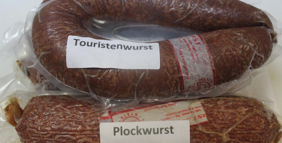 Touristenwurst/Plockwurst