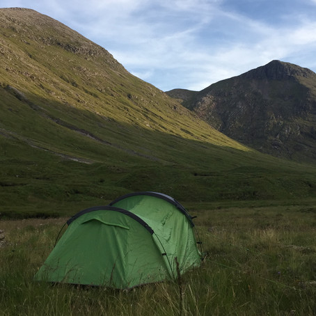 Hold on tightly, let go lightly: two days in the hills of Glen Coe